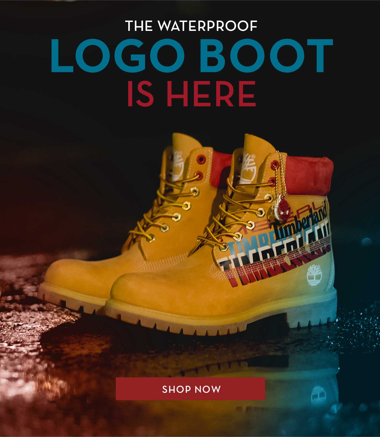 THE WATERPROOF LOGO BOOT IS HERE  SHOP NOW