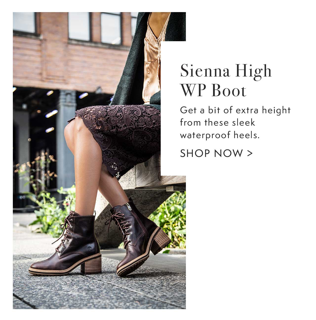 Sienna High WP Boot                                                 Shop Now